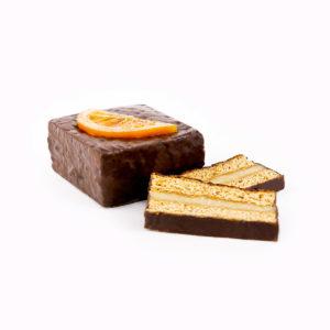 Orangen-Marzipan-Lebkuchen