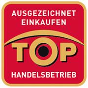 Zertifikat: Ausgezeichnet Einkaufen - TOP Handeslbetrieb